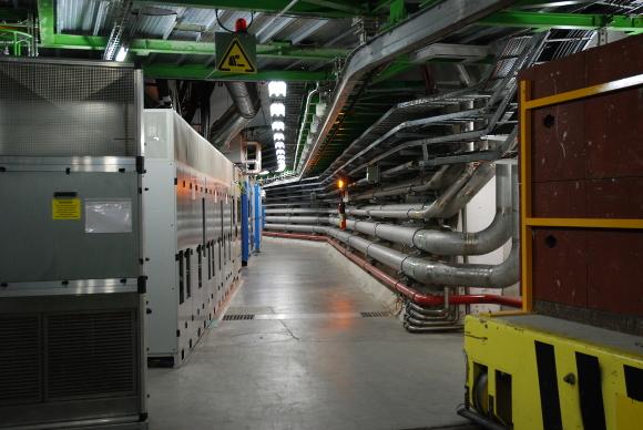 LHCb tunnel