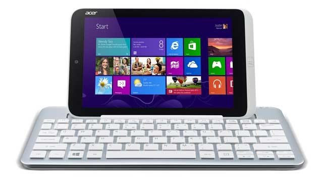 Photo of the Acer Iconia W3 Windows 8 tablet