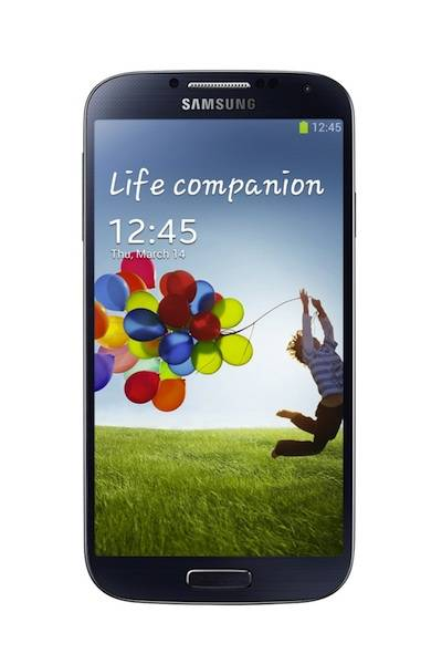 The Samsung Galaxy S4