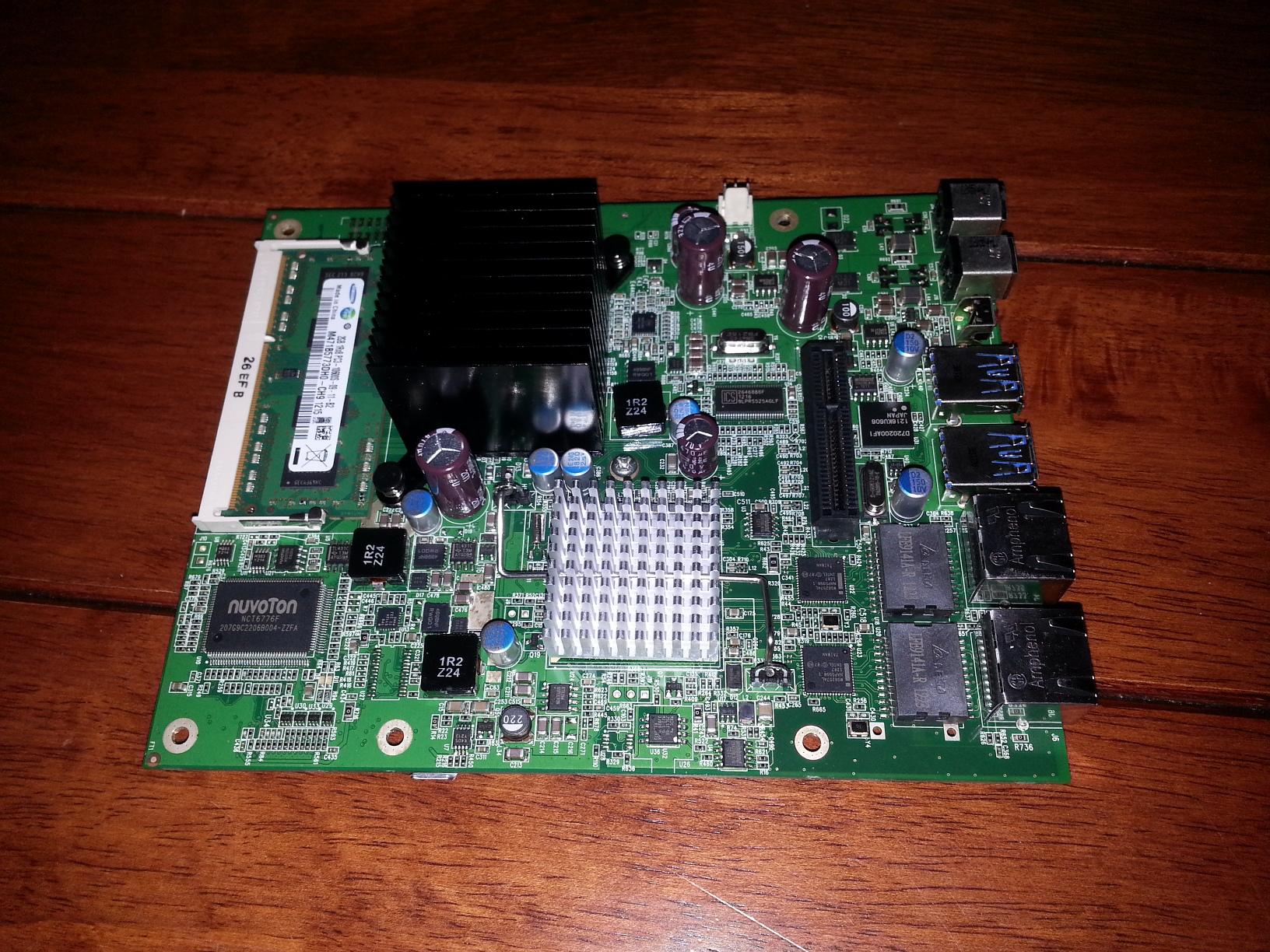 Western Digital DX4000 Motherboard