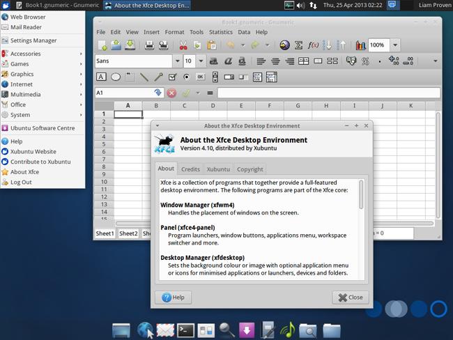 Xubuntu desktop1