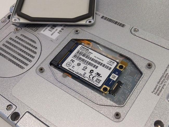 Panasonic Toughpad FZ-G1 with Toshiba SSD