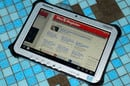 Panasonic Toughpad FZ-G1 in the shower