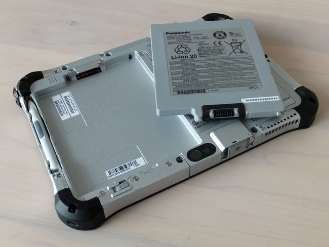 Panasonic Toughpad FZ-G1 battery