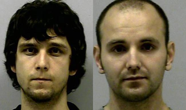 Eduard Petrovich Kovynev (left) and Eduard Alexander Kovynev. Pics: Gwinnett County Police