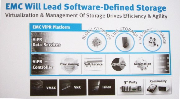 EMC's ViPR hopes to take advantage of commodity storage gear