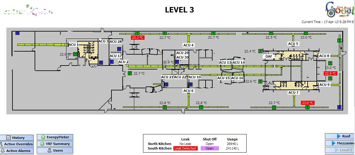 Google's Level 3, Wharf 7 layout
