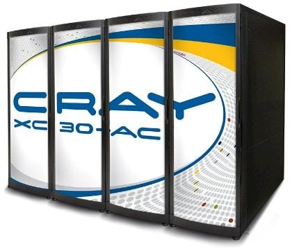 The XC30-AC is less dense, air-cooled, and less expensive than their liquid-cooled XC30-LC older sibling