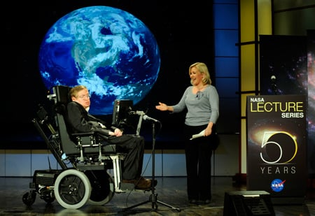 Hawking and Daughter