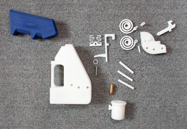 Parts for the Liberator 3D printed pistol1