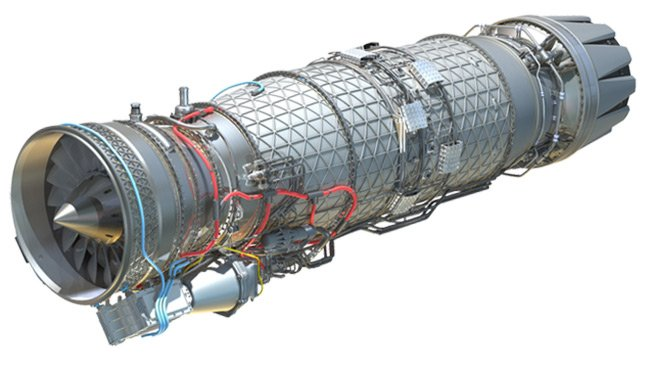 Illustration of the EJ200 engine. Pic: Bloodhound SSC