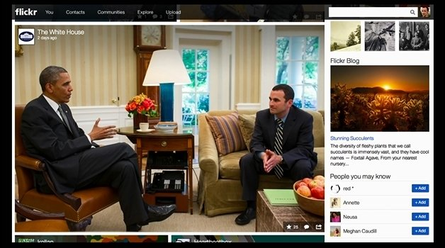 The new White House Flickr page