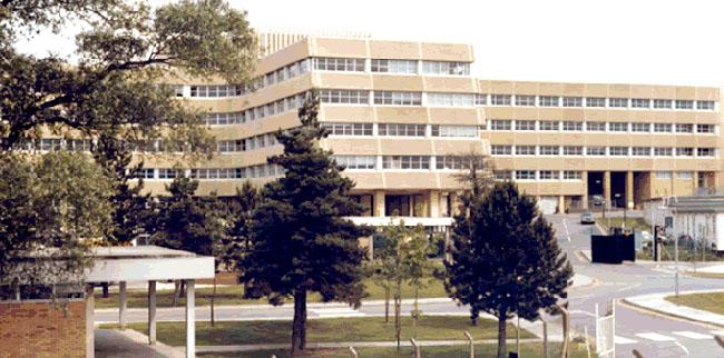 GCHQ Benhall 1970s building