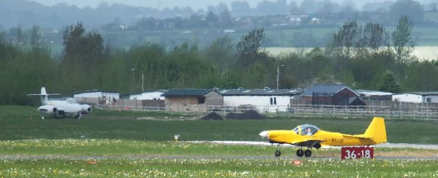 Gloucestershire Airport, Staverton