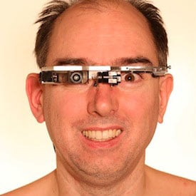 Photo of Steve Mann, wearable computing researcher