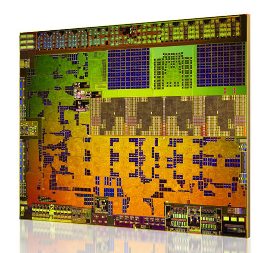 Die shot of AMD's Kabini APU