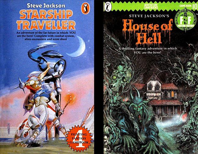 Fighting Fantasy: Starship Traveller, House of Hell