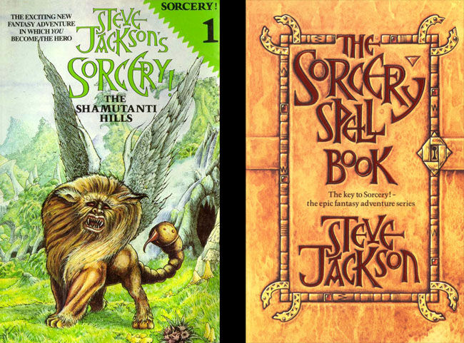 Sorcery! 1: Shamutanti Hills and the Spell Book
