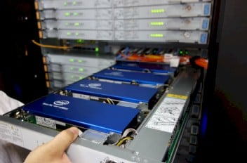 The Tianhe-2 Xeon Phi drawer in action