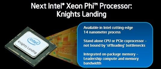 Intel is prepping a kicker Knights Landing Xeon Phi chip