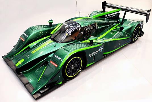 Drayson Racing Lola B12 69/EV Le Mans Prototype
