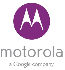 The logo in purple