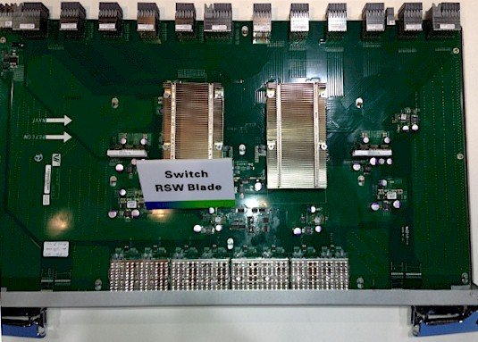 The RSW switch blade for Tianhe-2