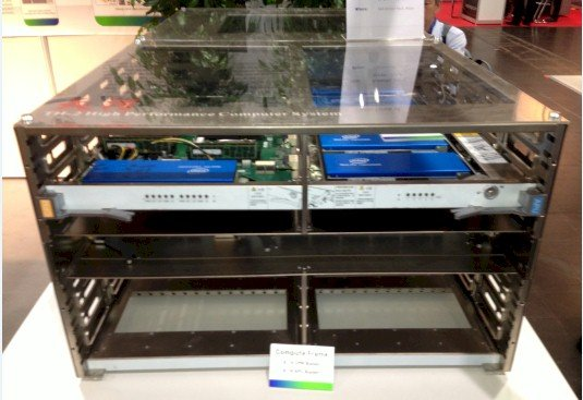 The Tianhe-2 server chassis