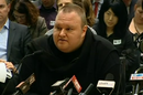 Kim Dotcom at the NZ parliamentary hearing