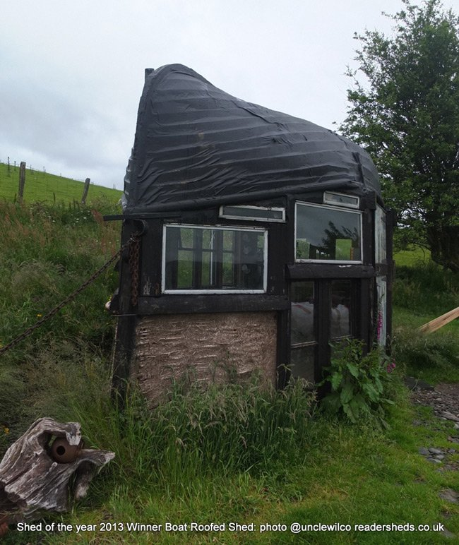 Another view of Alex Holland's shed