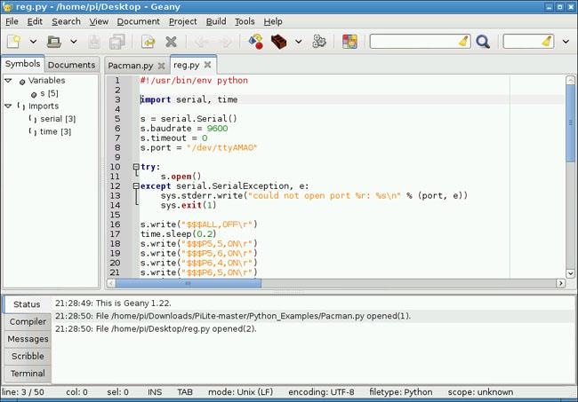 Ciseco Pi-Lite code