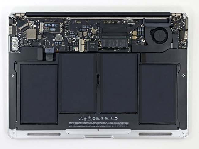 Apple MacBook Air 13-inch 2013 internals