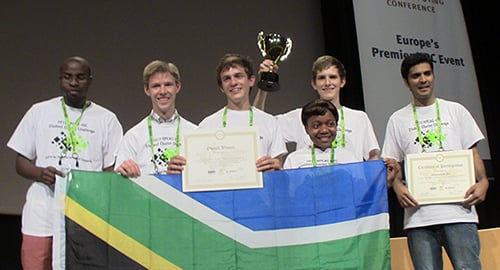 ISC Student Cluster Competition overall winner: South Africa