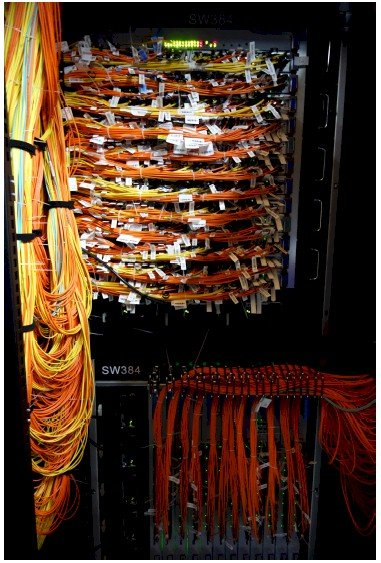 In China, presumably they call a tangle of cables noodles, not spaghetti