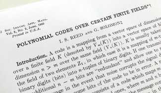 Reed-Solomon Polynomial Codes Over Certain Finite Fields paper intro