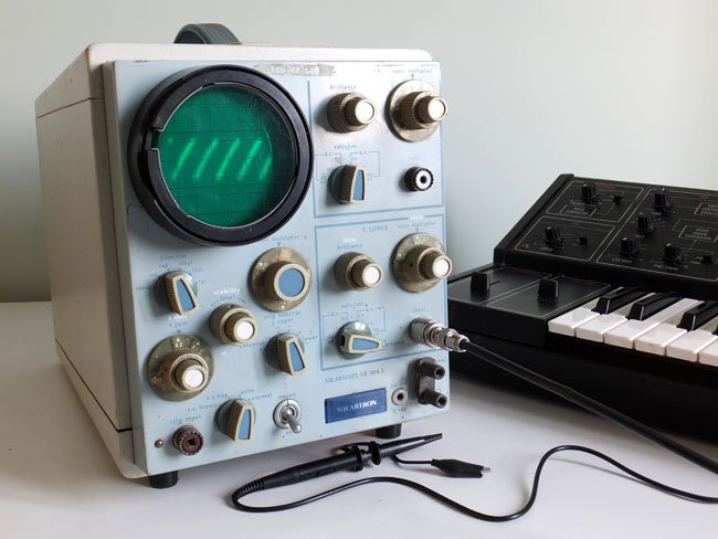 Solartron CD 1014.3 oscilloscope