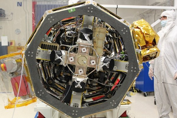 NASA's LLCD laser comms experiment
