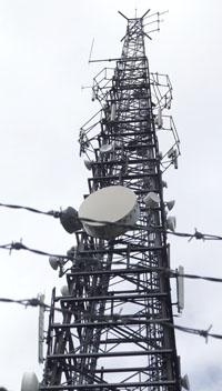 Arqiva Aerial Mast site 36223 on Cleeve Hill