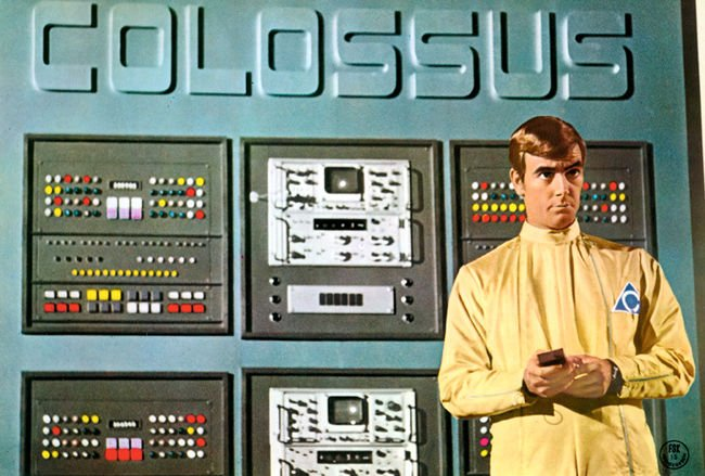 Colossus computer from The Forbin Project