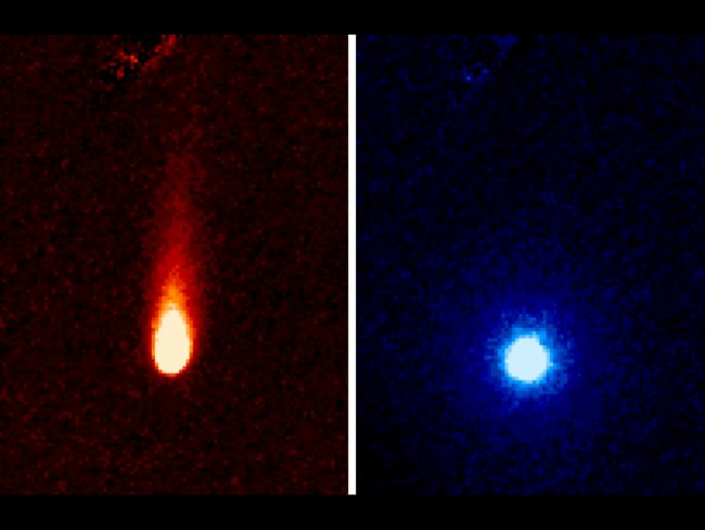 Spitzer pics of comet ISON 500m km from the Sun
