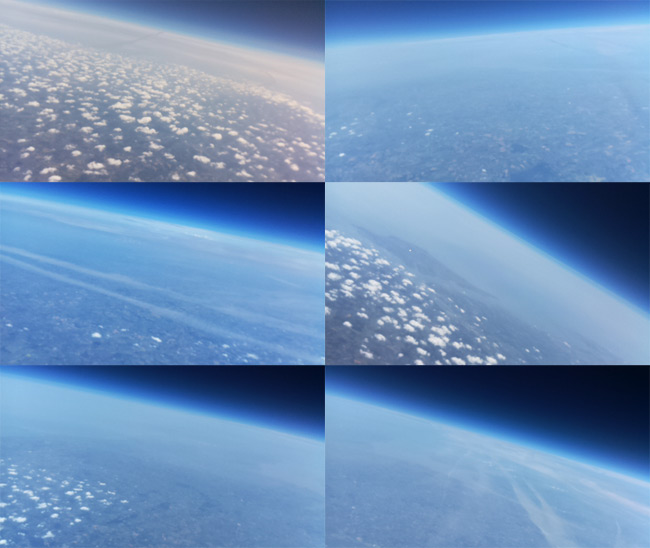 Another montage at altitude from the Raspberry Picam