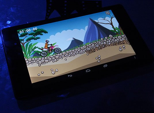 Google Nexus 7 2 Bike Xtreme gaming