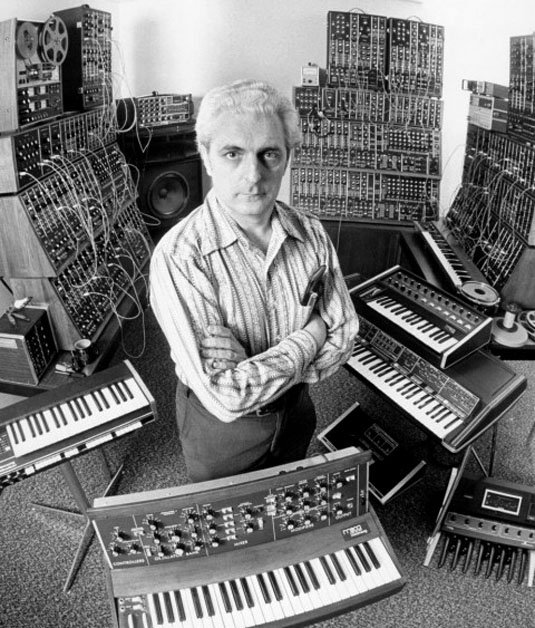 Moog promo pic from 1972