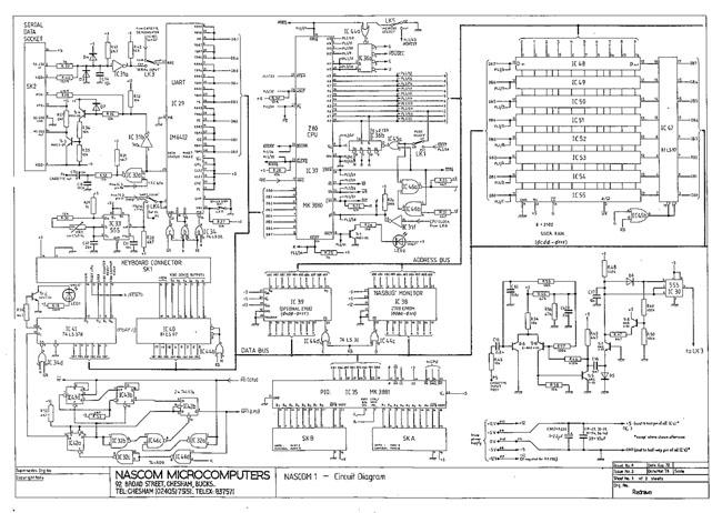 Nascom-1 schematic