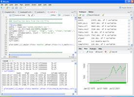 Revolution Analytics R Studio application