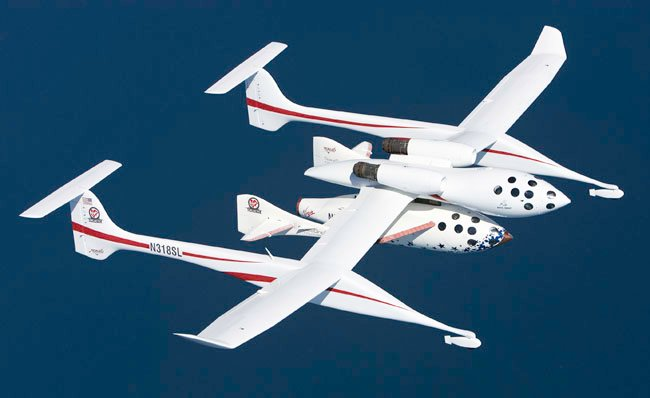 Virgin Galactic White Knight One