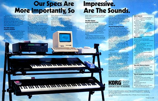 Korg MIDI keyboard and Mac sequencer