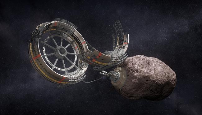 Deep Space Industries settlement concept
