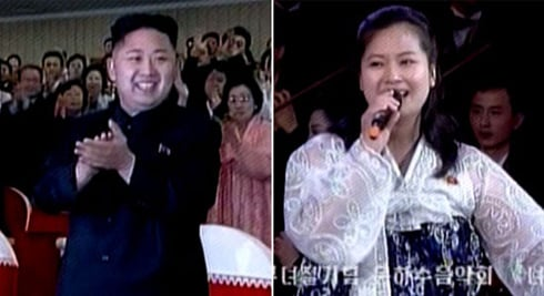 Kim Jong-un and former lover Hyon Song-wol