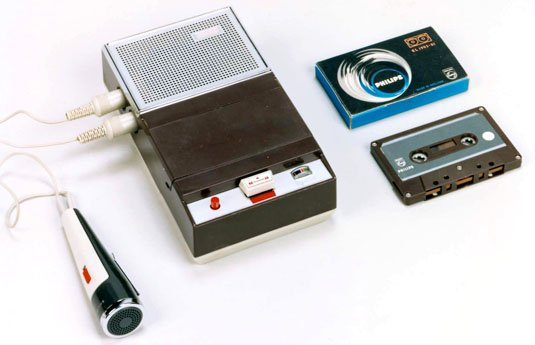 Philips EL 3300 portable cassette recorder kit